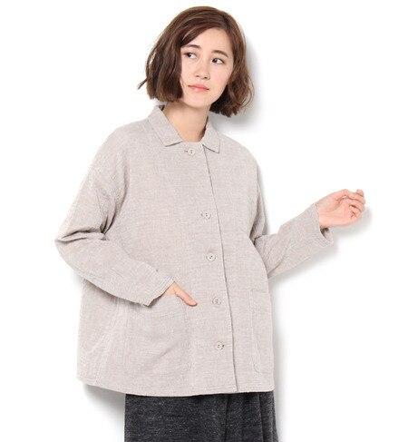 【サマンサモスモス/Samansa Mos2】 2重織カバーオールジャケット [送料無料]