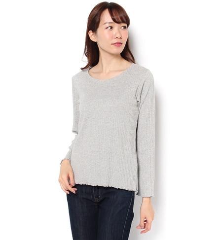 【サマンサモスモス/Samansa Mos2】 針抜きTシャツ [3000円(税込)以上で送料無料]
