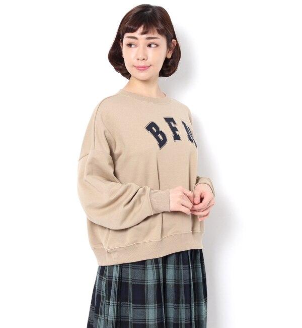 【サマンサモスモス/Samansa Mos2】 BIG裏毛チュニック