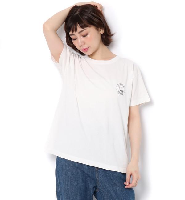 【サマンサモスモス/Samansa Mos2】 ■【UNITED CRAFT】ロゴプリントTシャツ