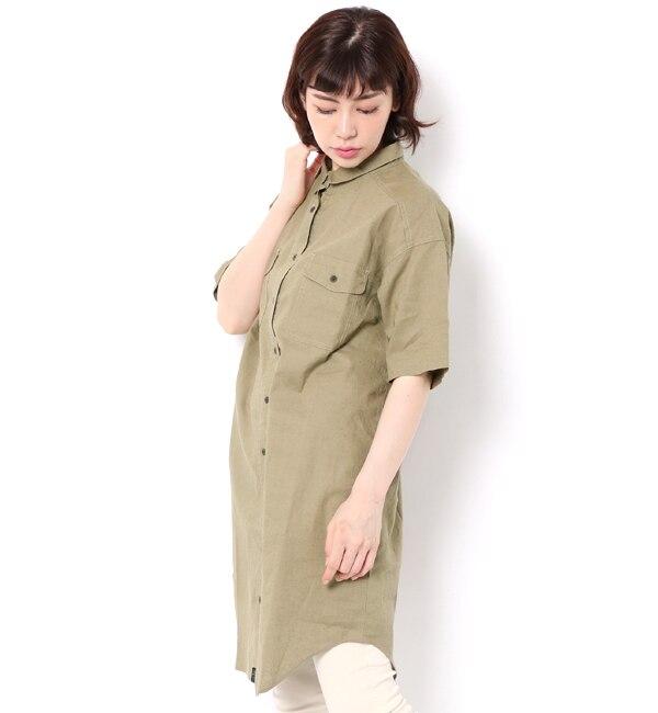 【サマンサモスモス/Samansa Mos2】 ■CPOシャツチュニック