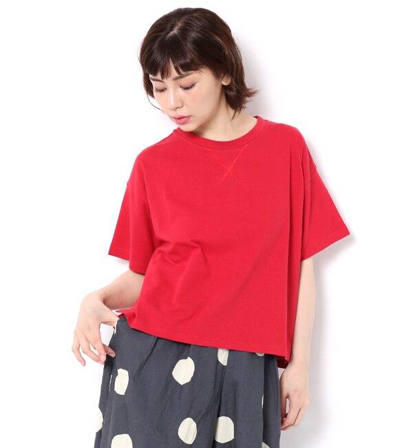 【サマンサモスモス/Samansa Mos2】 18/?OE綿 半袖Tシャツ