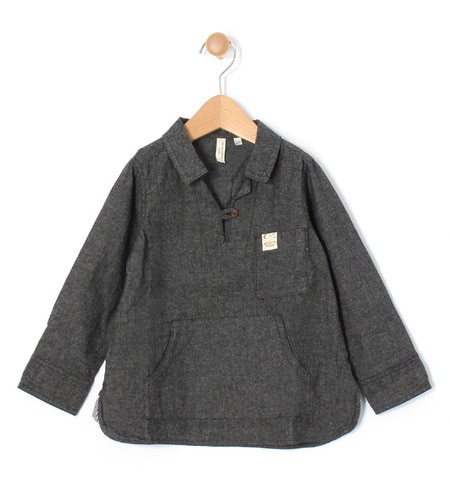 【ラーゴム/LAGOM】 オックス起毛プルオーバーシャツ [3000円(税込)以上で送料無料]
