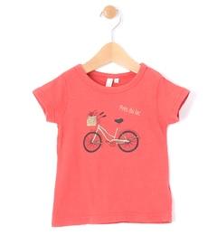 【ラーゴム/LAGOM】 自転車プリントスラブTシャツ [3000円(税込)以上で送料無料]