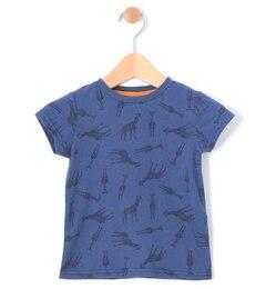 【ラーゴム/LAGOM】 キリン総柄Tシャツ [3000円(税込)以上で送料無料]