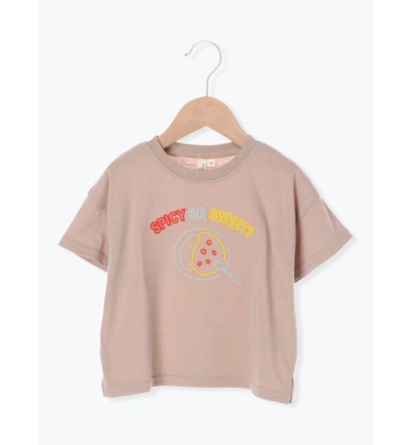 【ラーゴム/LAGOM】 カレーライス刺繍Tシャツ