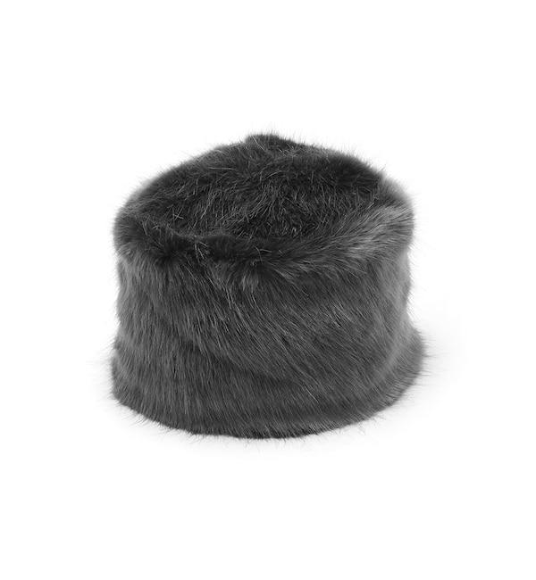 54dfbabcfbdd0 フェイクファーキャップ《GREVI》(帽子) スーペリアクローゼット ...