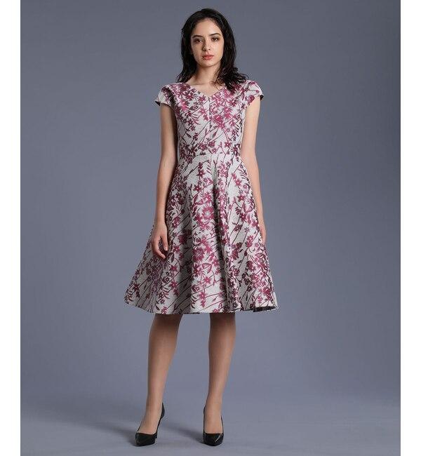 【エフデーゼ/EFDEISEE】 《M Maglie le cassetto》モールジャガードドレス