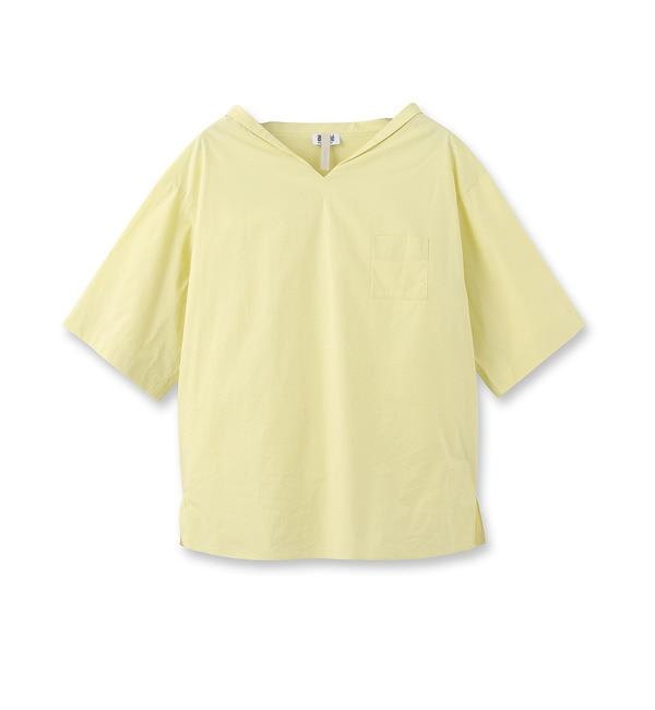 【アンタイトル/UNTITLED】 [L]イタリアンコットンシャツ [送料無料]