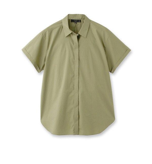 【アンタイトル/UNTITLED】 [L]フライフロントシャツ [送料無料]