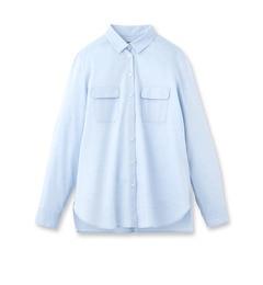 【アンタイトル/UNTITLED】ダブルポケットカシュクールシャツ[送料無料]
