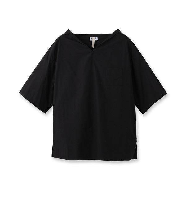 【アンタイトル/UNTITLED】 イタリアンコットンシャツ [送料無料]