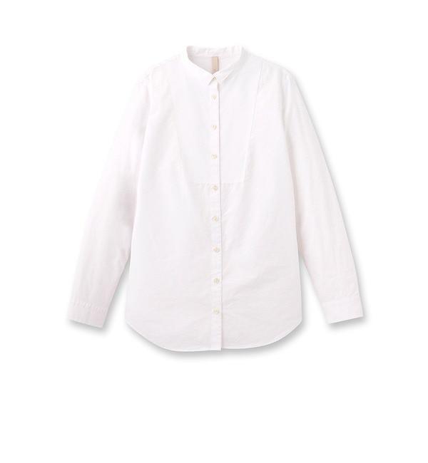 【アンタイトル/UNTITLED】 [L]シンプルデザインコットンシャツ [送料無料]