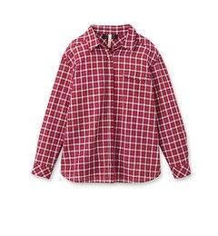 【アンタイトル/UNTITLED】【VERY4月号掲載】[L]コットンリネンリラックスチェックシャツ[送料無料]