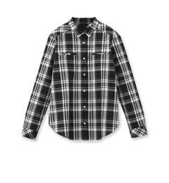 【アンタイトル/UNTITLED】マドラスチェックシャツ[送料無料]