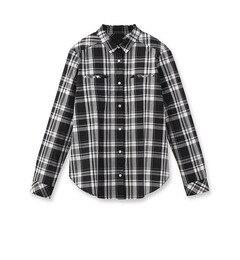 【アンタイトル/UNTITLED】 [L]マドラスチェックシャツ [送料無料]