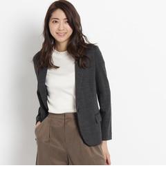 【アンタイトル/UNTITLED】グレンチェックジャケット[送料無料]