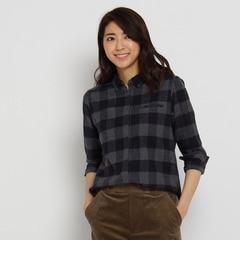 【アンタイトル/UNTITLED】バッファローチェックネルシャツ[送料無料]