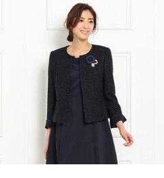 【アンタイトル/UNTITLED】 ロリエフツイードジャケット [送料無料]