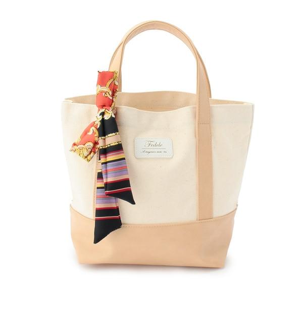 【アンタイトル/UNTITLED】 Fedele スカーフ付きミニトートバッグ [送料無料]