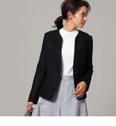 【アンタイトル/UNTITLED】 [L]圧縮ウールジャージジャケット [送料無料]