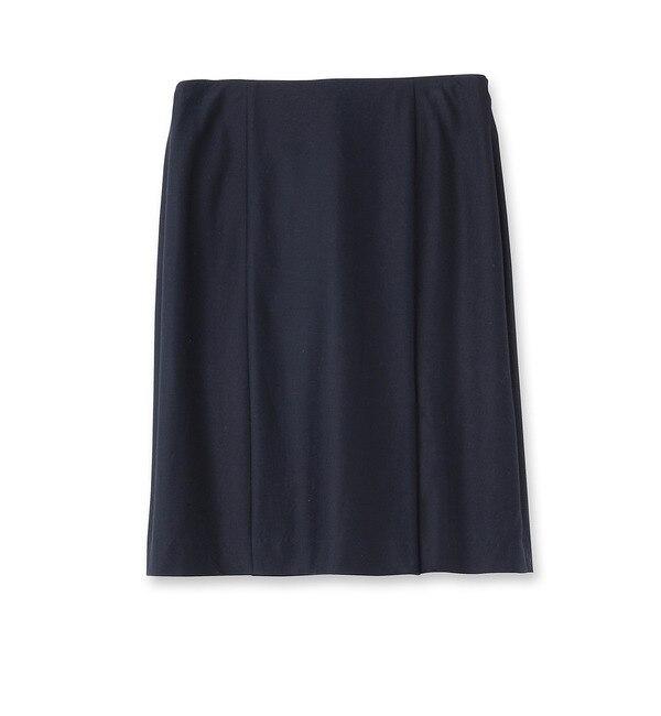 【クード シャンス/COUP DE CHANCE】 膝丈台形スカート [送料無料]