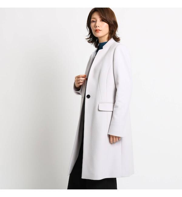 【クード シャンス/COUP DE CHANCE】 ライナー付きスタンドカラーコート
