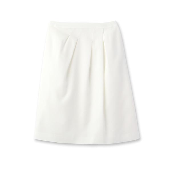 【リフレクト/Reflect】 シャンブレーアシメトリーラップ風スカート [送料無料]