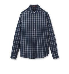 【リフレクト/Reflect】インディゴチェックシャツ[送料無料]