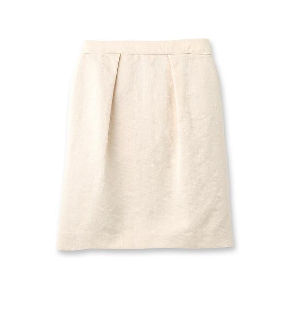 【スーナウーナ/SunaUna】 アンフラワージャガードスカート [送料無料]