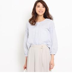 【スーナウーナ/SunaUna】ボリュームスリーブブロードシャツ[送料無料]