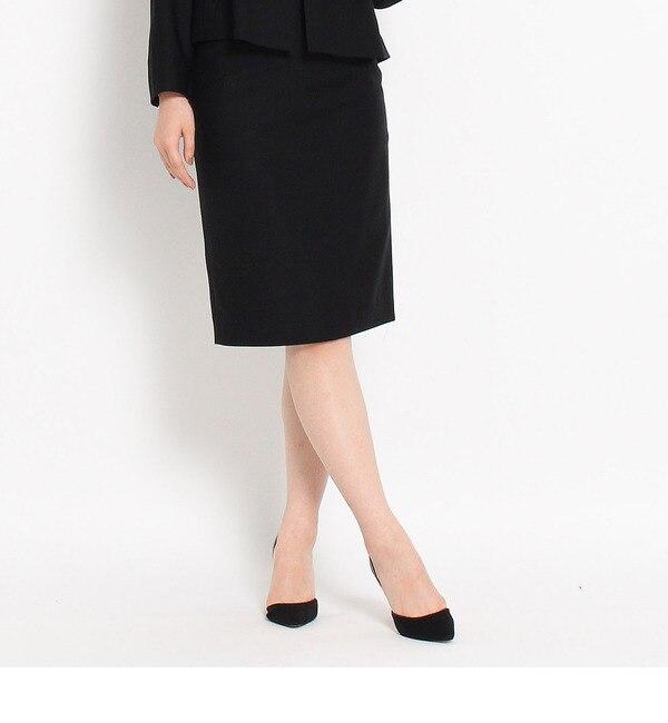 【ドレステリア/DRESSTERIOR】 濃染ブラックタイトスカート [送料無料]