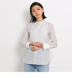 【ドレステリア/DRESSTERIOR】 クレリックドットシャツ [送料無料]