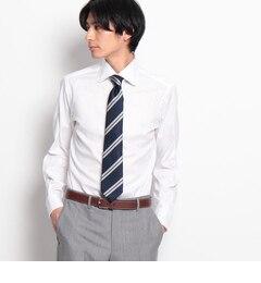 【ドレステリア/DRESSTERIOR】ALBINIロイヤルオックスラウンドカラードレスシャツ[送料無料]