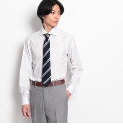 【ドレステリア/DRESSTERIOR】GIZA70マイクロストライプカットアウェイドレスシャツ[送料無料]
