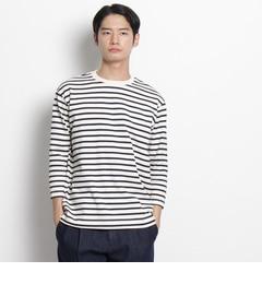 【ドレステリア/DRESSTERIOR】 天竺ボーダー7分袖ロングTシャツ [送料無料]