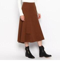 【ドレステリア/DRESSTERIOR】 高密度ギャバ 製品染めスカート [送料無料]