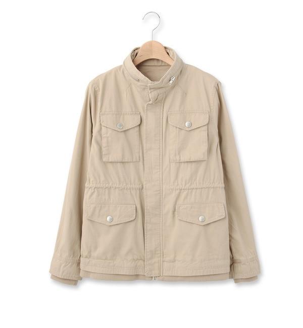 【オゾック/OZOC】 ミリタリージャケット [送料無料]