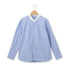 【オゾック/OZOC】 ノーカラークレリックコットンシャツ [3000円(税込)以上で送料無料]