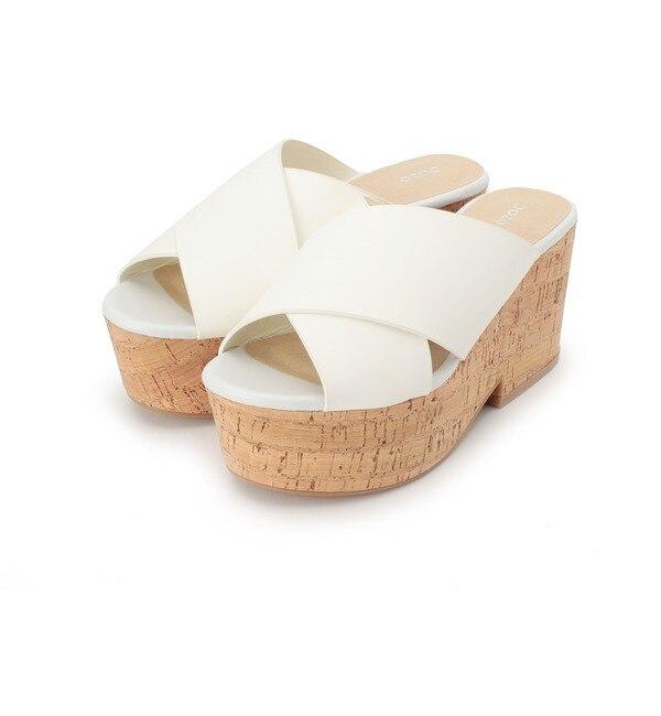 【オゾック/OZOC】 クロス厚底サンダル [送料無料]