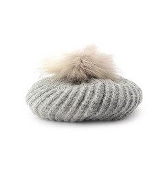 【オゾック/OZOC】リアルファーポンポンベレー帽[3000円(税込)以上で送料無料]