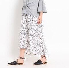 【オゾック/OZOC】 花柄マーメイドスカート [3000円(税込)以上で送料無料]