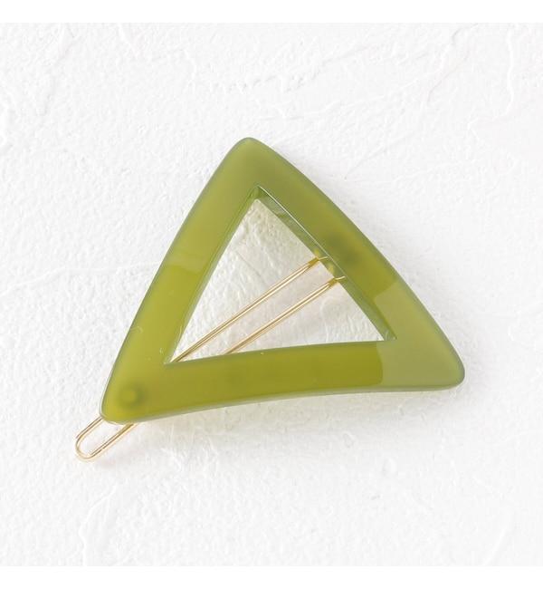 【オゾック/OZOC】 三角ヘアクリップ