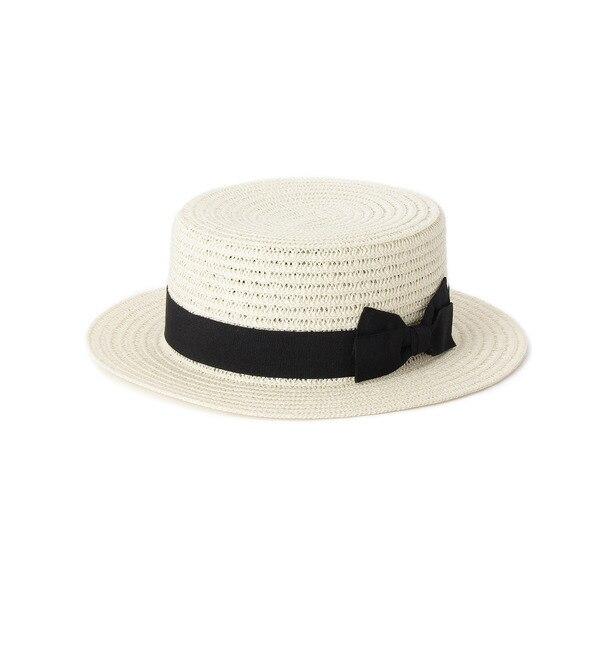 【グローブ/grove】 ペーパーカンカン帽 [3000円(税込)以上で送料無料]