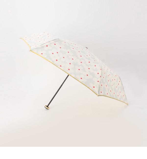 【グローブ/grove】 ビッグフラワー晴雨兼用折り畳み傘 [3000円(税込)以上で送料無料]