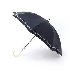 【グローブ/grove】 プチフラワー刺しゅう晴雨兼用傘(長傘) [3000円(税込)以上で送料無料]