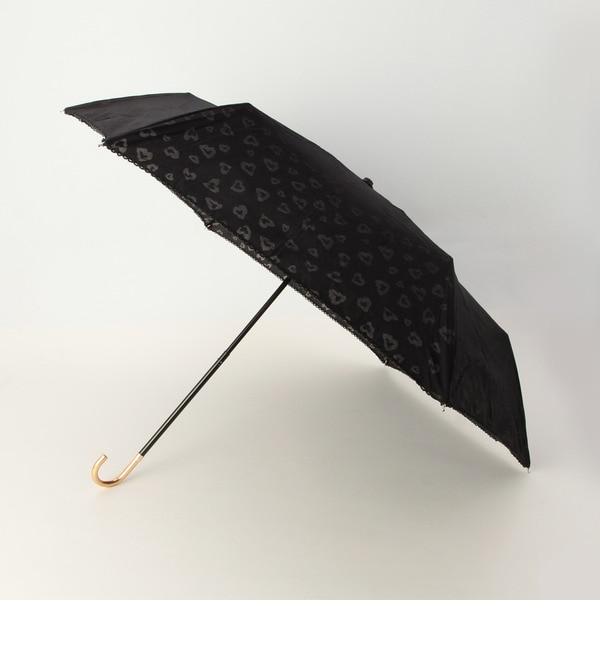 【グローブ/grove】 オパールレオパード折りたたみ傘 [3000円(税込)以上で送料無料]