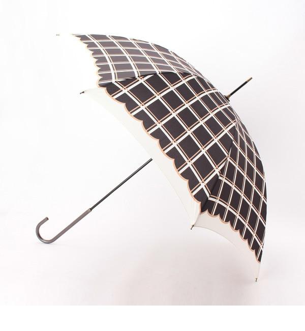 【グローブ/grove】 ウィンドウペンチェック晴雨兼用長傘 [3000円(税込)以上で送料無料]