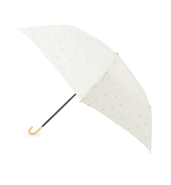 【グローブ/grove】 ジェムリボン晴雨兼用折りたたみ傘 [3000円(税込)以上で送料無料]