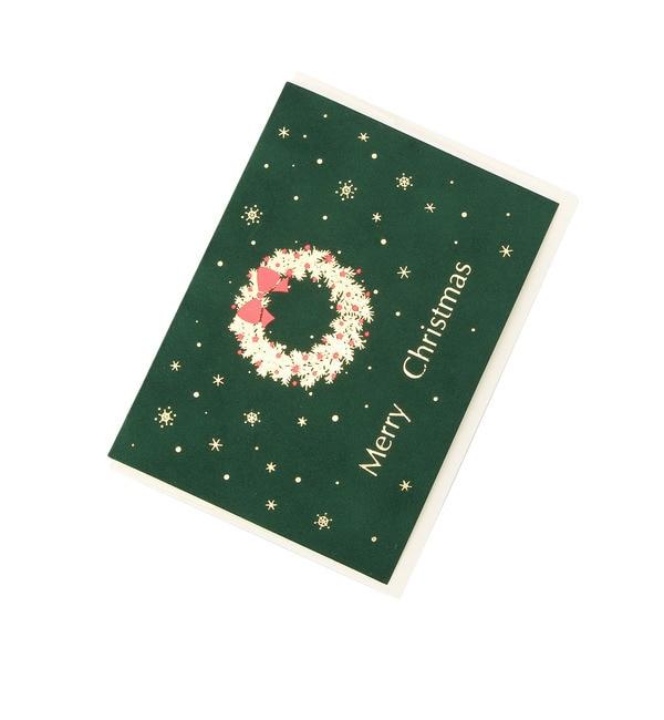 【グローブ/grove】 ベルベットクリスマスカード [3000円(税込)以上で送料無料]